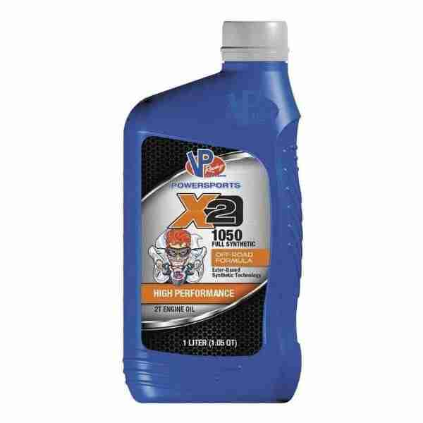 Review of VP Racing Fuels X2 1050 Full-Synthetic 2T Premix Oil