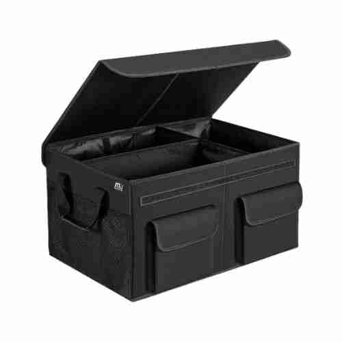 MIU COLOR Car Trunk Organizer with Lid for SUV