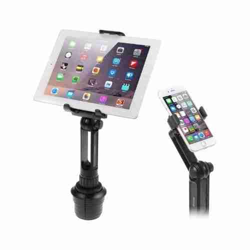 Cup Mount Holder iKross 2-in-1 Tablet and Smartphone