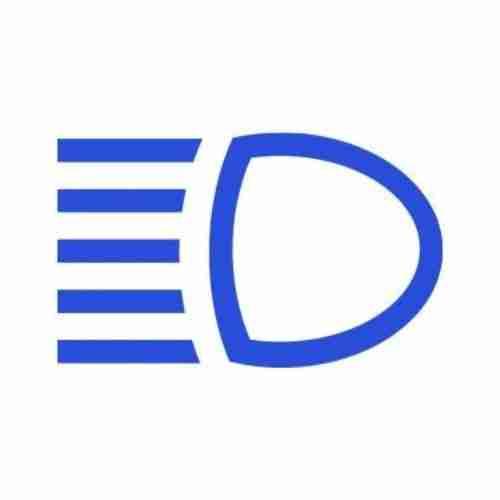 high beam symbol